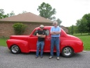 Weldon & Buddy with his \'41 Ford.jpg