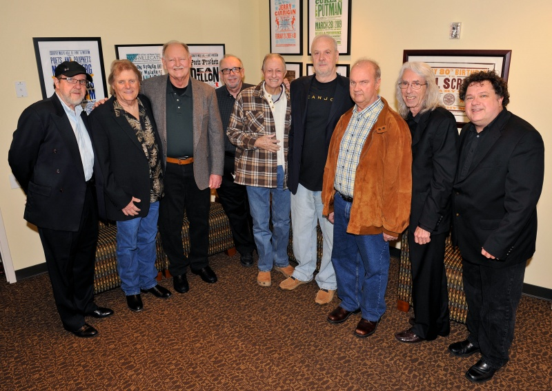 Norbert,Reggie,Weldon,Jerry,Chip,David,Pig,Wayne & Bill@Briggs\' Nashville Cat Series.jpg