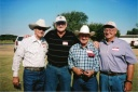Weldon w Billy John Harrison, Buddy Jones & Mickey Olliff.jpg